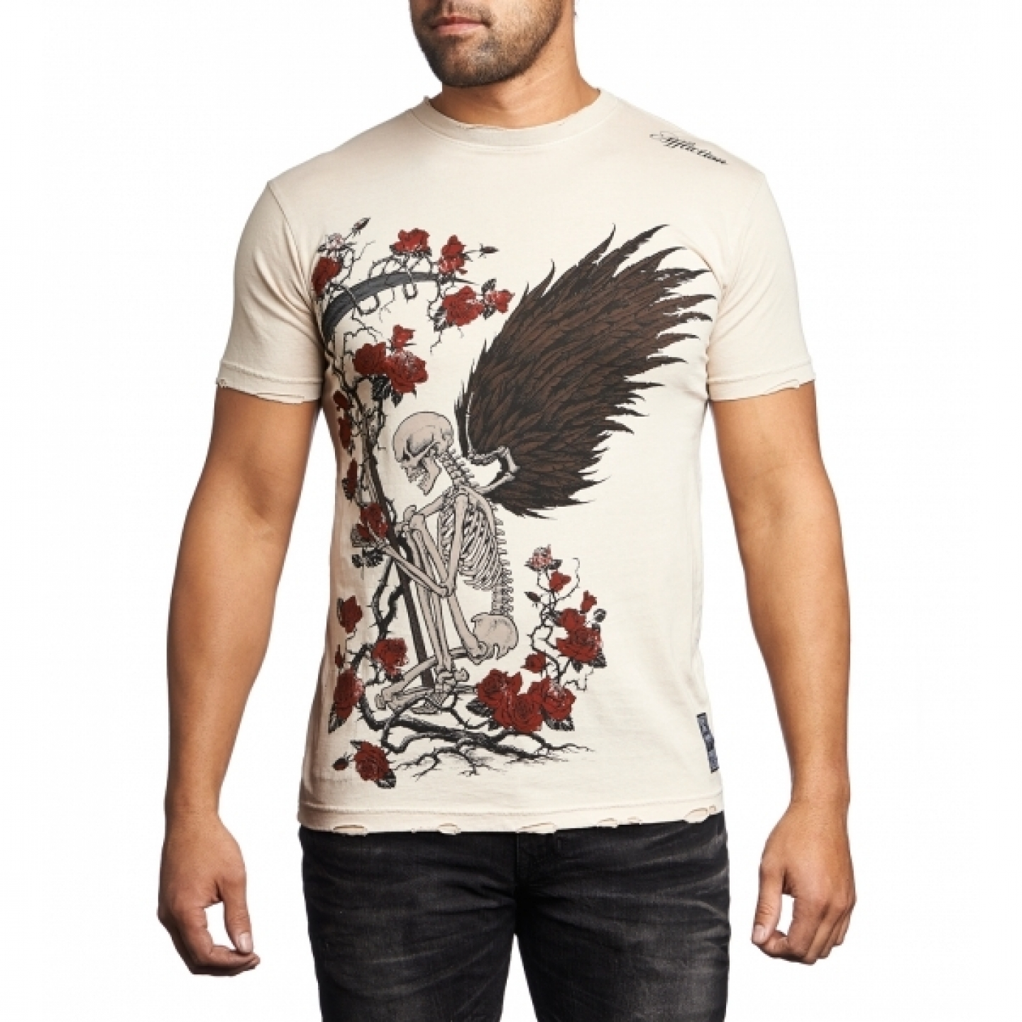CAMISETA WINGED REAPER